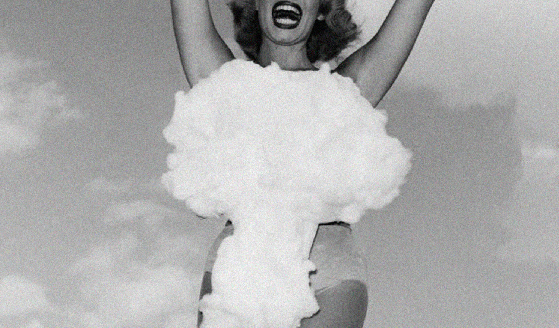 Tiara on a Test Site: Miss Atomic Bomb